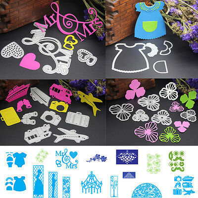 DIY Metal Cutting Dies Stencil Scrapbook Cards Album Paper Embossing Craft F7