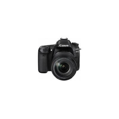 Canon EOS 80D DSLR with 18-135mm USM Lens and Printer Kit #1263C006 Z
