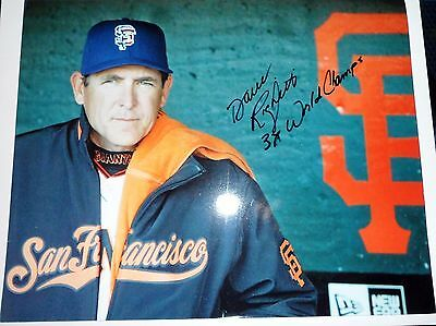 Dave Righetti Autographed 8x10 Photo - San Francisco Giants - AUTO SIGNED