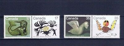 canada stamps sg989/92 set of 4 Les Inuits ... Mint ...