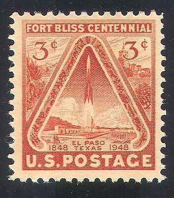 USA 1948 Fort Bliss/Rocket/Cactus/Buildings/Space/Military/Heritage 1v (n40803)