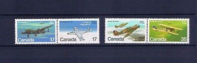 canada stamps sg996/9 Canadian Aircraft 1980... Mint ...
