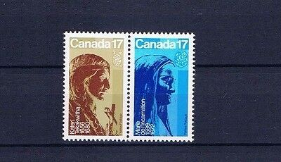 canada stamps sg1008, sg1009 Canadian Catholic Women 1981... Mint / MNH