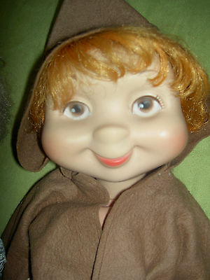 Vintage 1960, Whimsie, Freddie the Friar, monk American Character doll toy