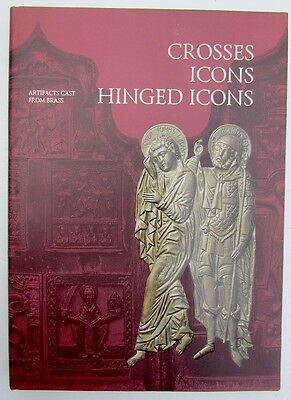 Russian Metal Icon & Crosses Illustrated Reference & Art Album Book