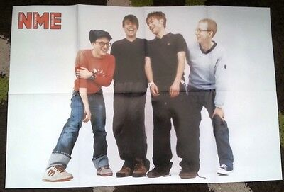 BLUR 'belly laughs' LARGE magazine POSTER / Pin Up 32x22 inches