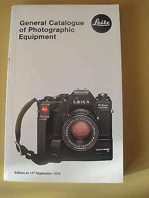 Leitz - General Catalogue Of Photographic Equipment September 1978