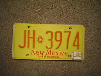 New Mexico Older Land Of Enchantment     License Plate    Buy All States Here