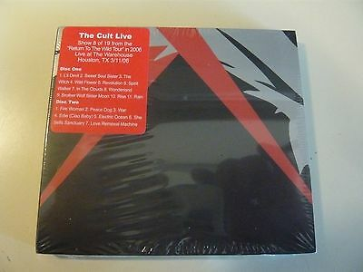 THE CULT Return To The Wild Tour Houston TX 3/11/06 Sealed Instant Live 2 CD