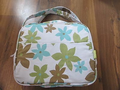 NEW compact picnic cool bag / basket with plates and cutlery
