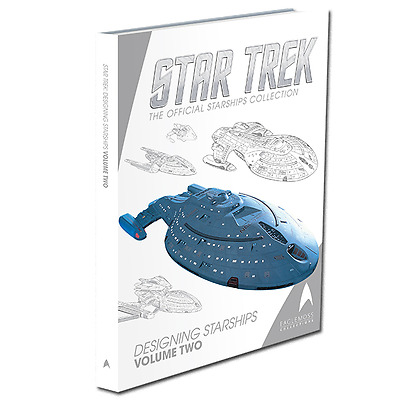 Designing Starships Buch 2 - Eaglemoss Star Trek Design 30 Schiffe neu ovp