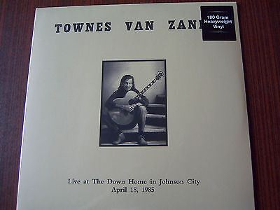 Townes Van Zandt-Live At The Down Home in Johnson City 180g LP NEW-OVP 1985/2017