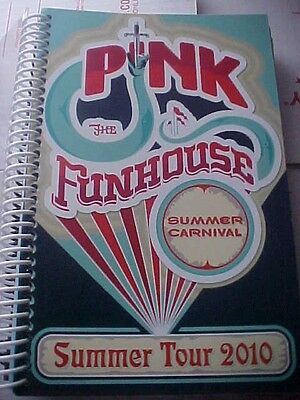 """Pink 2010 """"Funhouse Summer Carnival"""" Summer Tour Itinerary (60 pages)"""