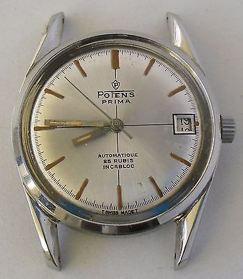Felsa 4462 Movement Potens Prima Automatic Working Project Funciona