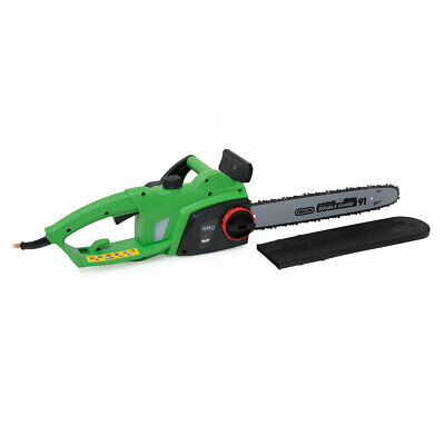 "BMC 2000w 230v 16"" 400mm Electric Chainsaw OREGON Bar & Chain 10 Metre Cable"