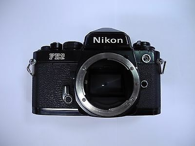 Nikon FE2 35mm SLR Film Camera Body Only