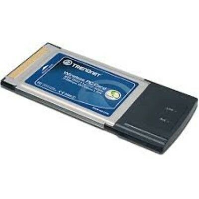 Trendent 54Mbps 802.11g Wireless PC Card