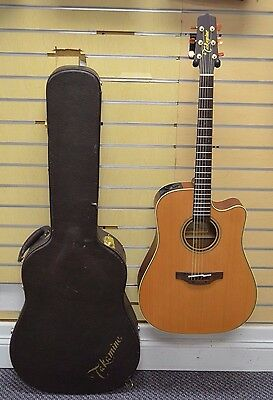 *2012 Takamine P3DC Pro Series Dreadnought Cutaway Acoustic Guitar w/ Hard Case