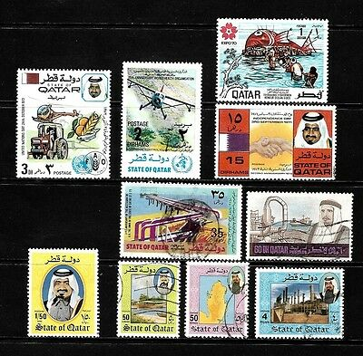 Qatar.........excellent Postage Stamps From Qatar................81004