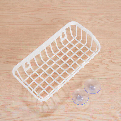 Double Suction Cup Kitchen Drainage Shelf Multifunctional Sponge Storage Rack WH