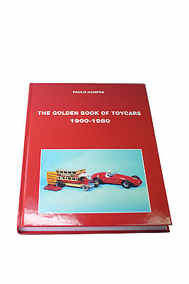 Sammlerbuch Paolo Rampini  -The Golden Book Of Toycars 1900-1980 -****