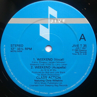 Class Action - Weekend 12 Inch