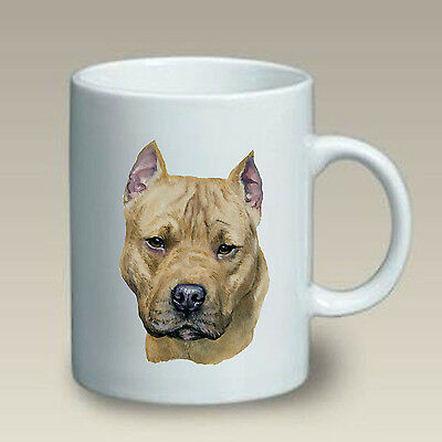 11 oz. Ceramic Mug (LP) - Staffordshire Bull Terrier 46148