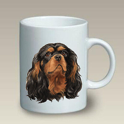 11 oz. Ceramic Mug (LP) - Black & Tan Cavalier King Charles Spaniel 46034
