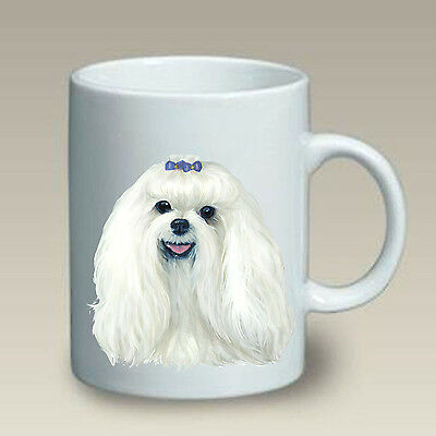 11 oz. Ceramic Mug (LP) - Maltese 46041