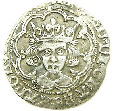 Rare Medieval Silver Groat of King Richard III Tower Mint 1483 - 1485 mm sunrose