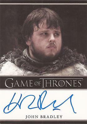 "Game of Thrones Season 2 - John Bradley ""Samwell Tarly"" Autograph Card"