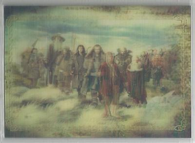 """The Hobbit An Unexpected Journey - """"Lenticular Poster"""" Chase Card KA02"""