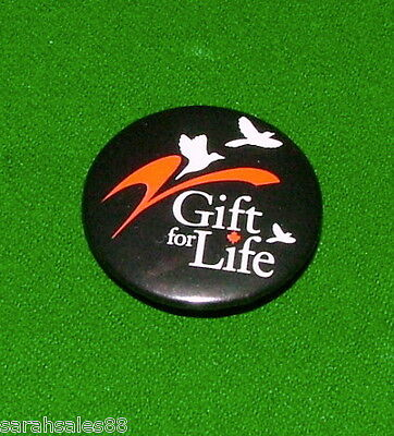 Gift of Life Vintage Pinback, Rare Pin, Badge, Button, Brooch, Right to Life