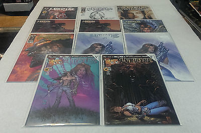 11 Diferent WITCHBLADE Variant cover Comic Books / HIGH Grade - $5 each !!