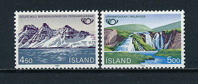 Iceland 571-2 MNH, Nordic Cooperation, 1983