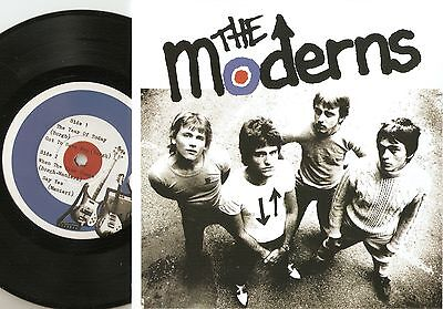 The Moderns The Year Of Today Ep Canada Re 45+Ps 1979/2015 Mod Revival Jam Who