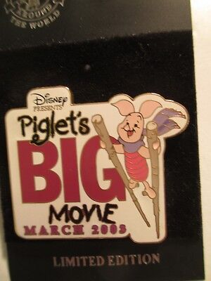 Disney PIGLET's BIG MOVIE Pin LE 1000 - Winnie The Pooh