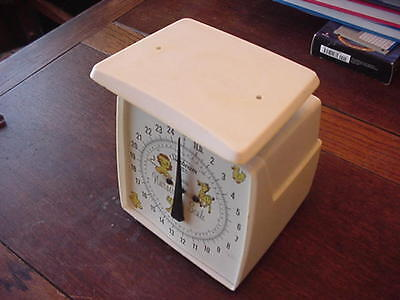 Sunbeam scale Shubuta MS. Nursery Scale Made In The USA 1 to 25 Pounds
