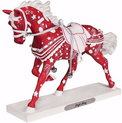 Trail of Painted Ponies Jingle Bling Christmas Horse Figurine Pony 4058164 New