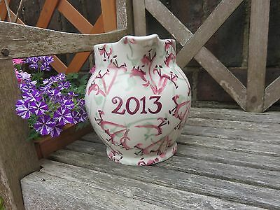 "Emma Bridgewater - ""Honeysuckle"" 2013 1.5 PINT YEAR JUG - NEW"