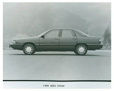 1986 Audi 5000S Automobile Factory Photo ch4695