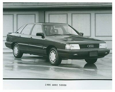 1986 Audi 5000S Automobile Factory Photo ch4694
