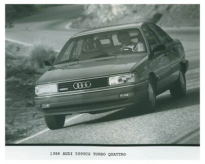 1986 Audi 5000CS Turbo Quattro Automobile Factory Photo ch4688