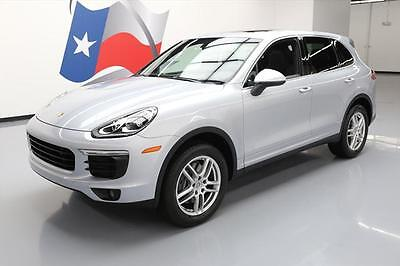 2016 Porsche Cayenne Base Sport Utility 4-Door 2016 PORSCHE CAYENNE AWD PANO SUNROOF NAV REAR CAM 8K #A08326 Texas Direct Auto