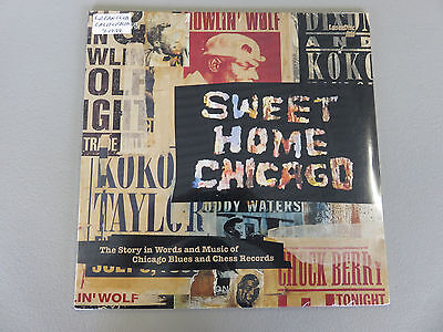 Sweet Home Chicago LaserDisc Historic Blues Footage Chess Records SEALED