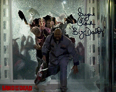 PRICES SLASHED! Land of the Dead Eugene Clark (Big Daddy Zombie) Signed 10x8