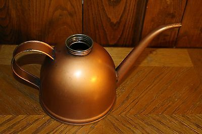 "Vintage Eagle Large Oil Can Copper colored - no cap 6"" tall"