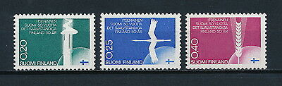Finland  450-2 MNH, Anniversary of Independence,1967
