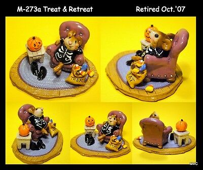 Wee Forest Folk M-273a Treat & Retreat-Limited Edition-9/2007-10/2007