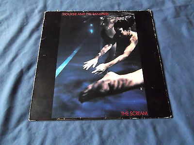 Siouxsie And The Banshees - The Scream  Vinyl LP 1978 UK VG